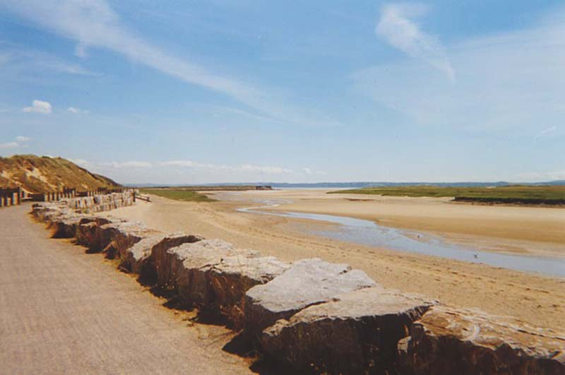 Millennium Coastal Path towards Ferryside